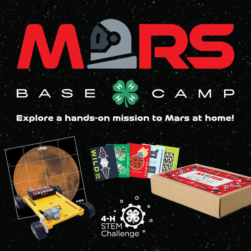 Mars base camp STEM kit