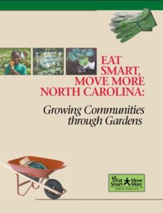 Cover of Growing Communities through Gardens publication